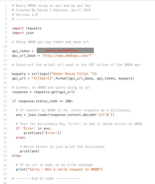 Python – David J Pearson: My Personal Blog